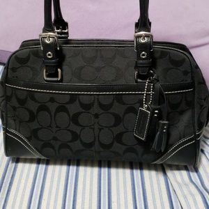 Authentic small Coach satchel